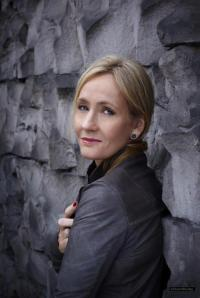 "J.K. Rowling, above, is ""very angry"" over the leak."