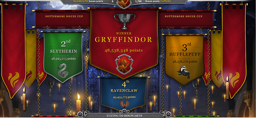 how to become a gryffindor on pottermore