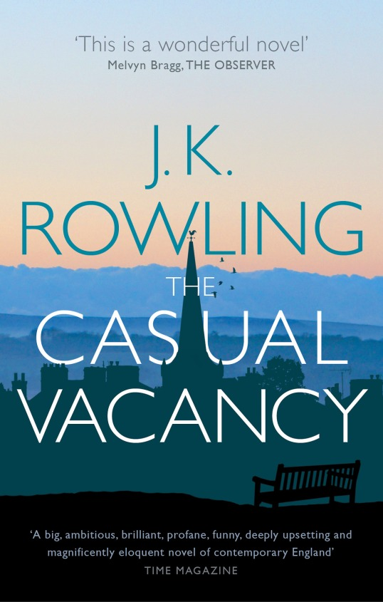 New UK cover of The Casual Vacancy