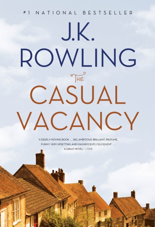 New US cover of The Casual Vacancy