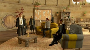 Hufflepuff Common Room on Pottermore on PS Home.