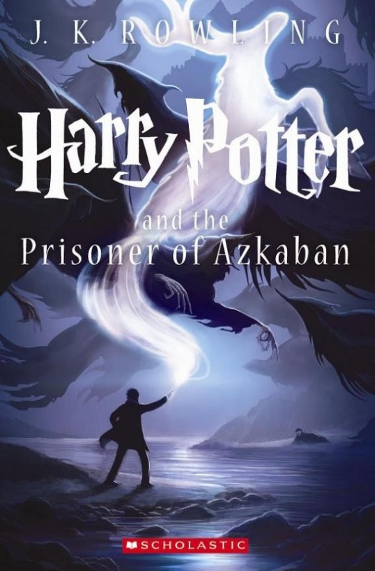 The new cover for Prisoner of Azkaban was unveiled today.