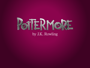 Pottermore will be going under a major revision this summer.
