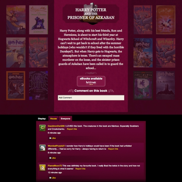 Image courtesy of Pottermore.
