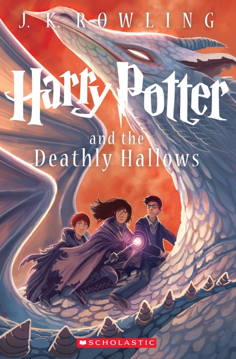 New 'Deathly Hallows' cover