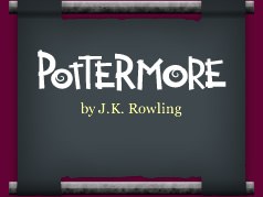 Image courtesy of Pottermore