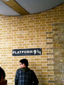 Platform 9 3/4 at King's Cross Station