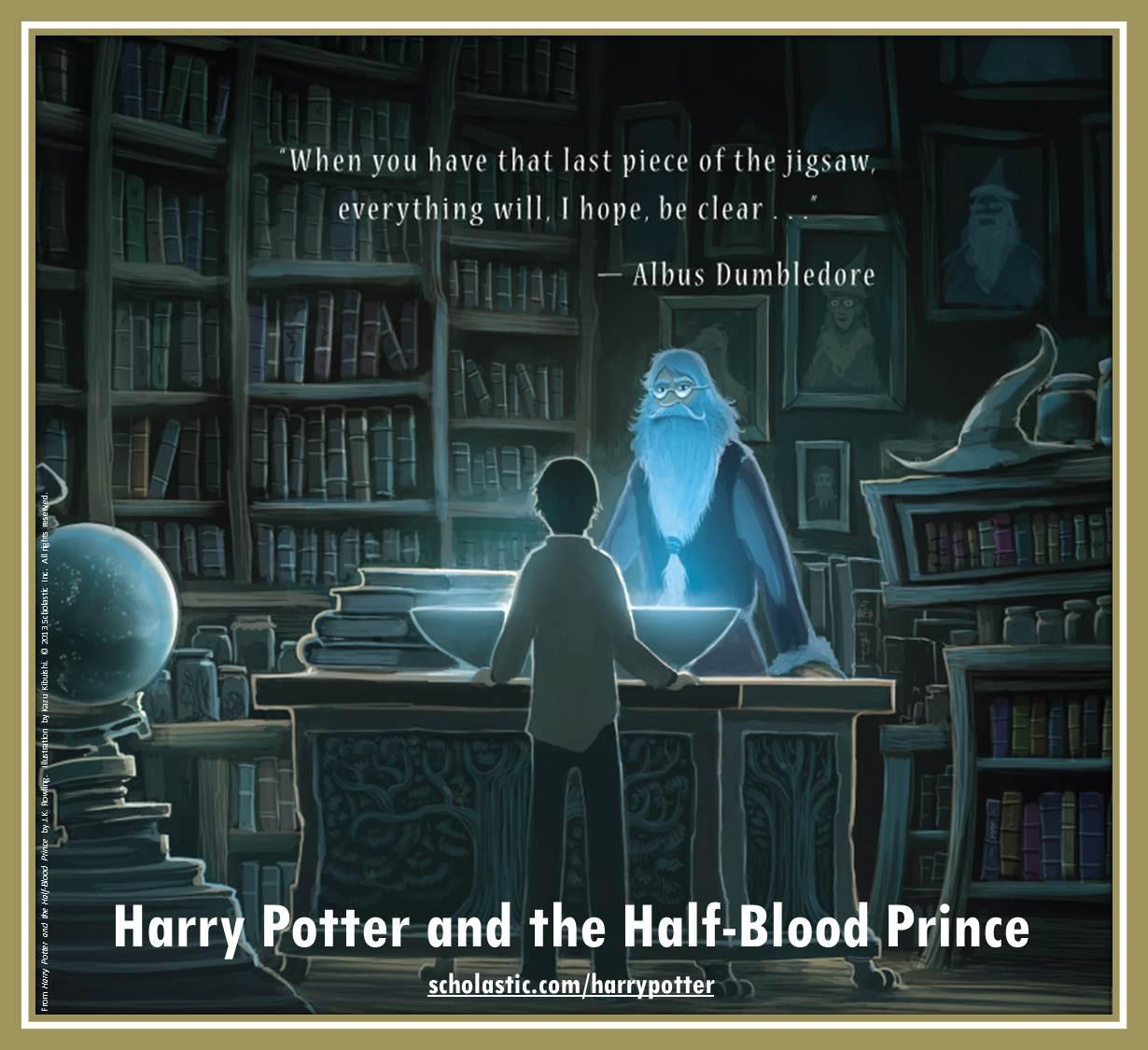 Half Blood Prince Pottermore News