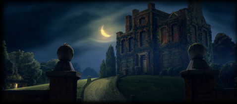 The Riddle House, as depicted on Pottermore
