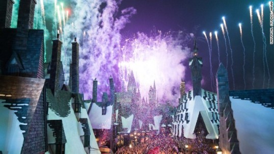 The Wizarding World of Harry Potter at Universal Studios Japan opened on Tuesday, July 15.