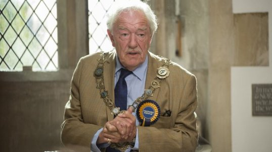 Michael Gambon as Howard Mollison in the television adaption of J.K. Rowling's novel, The Causal Vacancy.