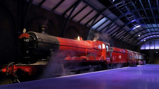 The Hogwarts Express at the Harry Potter Studio Tour -- Warner Bros. via Digital Spy